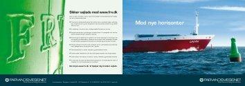 Profilbrochure - Farvandsvæsenet