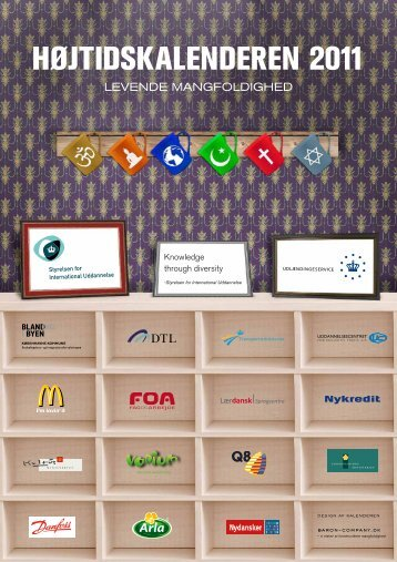 Højtidskalender 2011 - Baron & Company