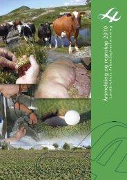 Årsmelding og regnskap 2010 - Landbrukets Arbeidsgiverforening