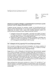 Orienteringsskrivelse af 23. december 2004 - Budget- og ...