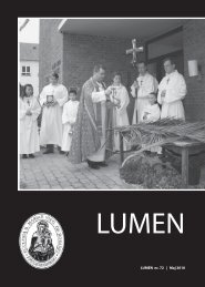1 LUMEN nr. 72 | Maj 2010 - Sankt Mariæ Kirke