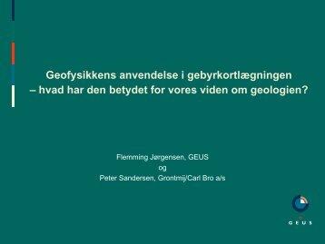 hvad har den betydet for vores viden om geologien? - ATV Jord og ...