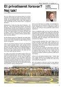 Indhold___________ Et privatiseret forsvar? Nej tak! Leder - CO-SEA - Page 3