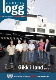 Gikk i landside 3-5 YEAR OF THE SEAFARER 2010 ... - TVU-INFO