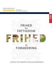 FATTIGDOM FRIhED FORANDRING - Danish Water Forum