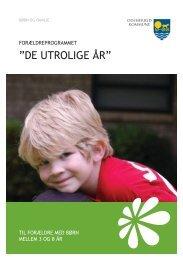 De utrolige år - til forældre.pdf - Odsherred Kommune