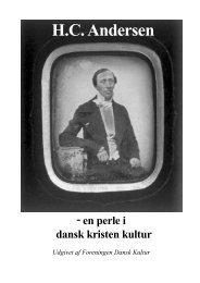 H.C. Andersen - Dansk Kulturs bøger