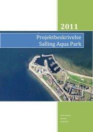 Projektbeskrivelse Salling Aqua Park - Skivedyk