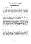 Projektbeskrivelse Salling Aqua Park - Skivedyk - Page 3