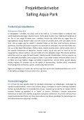 Projektbeskrivelse Salling Aqua Park - Skivedyk - Page 4