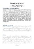 Projektbeskrivelse Salling Aqua Park - Skivedyk - Page 5