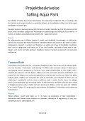 Projektbeskrivelse Salling Aqua Park - Skivedyk - Page 6