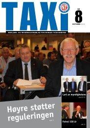 TAXI nr. 8/12 - Norges Taxiforbund