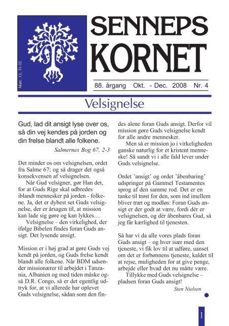 SENNEPS - Brødremenighedens Danske Mission