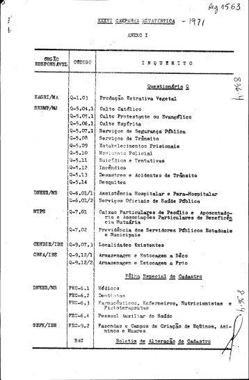 IQ-l.03 I - Biblioteca do IBGE
