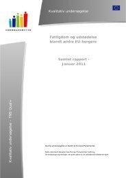Samlet rapport - Europa