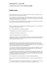 En kort oversigt med udvalgte bestemmelser i ... - Domstol.dk