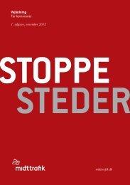 Stoppesteder - Midttrafik