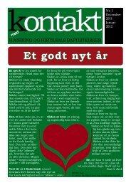 'Kontakt' for december 2011 - januar 2012. - Hjørring Baptistkirke