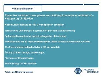 Orientering om vandhandleplan - Aalborg Kommune