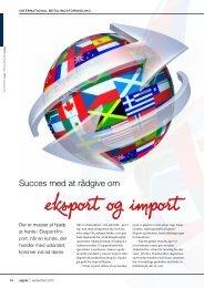 Eksport/Import - Hinge Thomsen