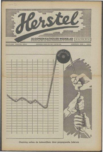 Herstel (1941) nr. 2 - Vakbeweging in de oorlog