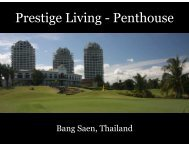 Præsentation af Penthouse - Prestige Living