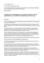 Forslag til bevarelse af Rodbjeggaard som et lokalt forankret ...