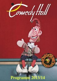 Programm 2013/14 - Comedy Hall