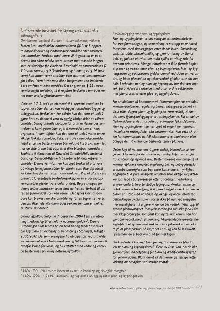 5Villrein og menneskelige forstyrrelser - NINA