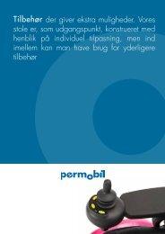 Ekstraudstyr katalog - Permobil