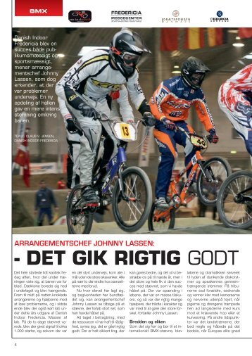 - DET GIK RIGTIG GODT - Danish Indoor Fredericia