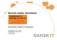 Tony Francke, Direktør i DANSK IT - Devoteam