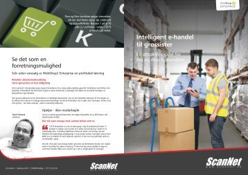 Intelligent e-handel til grossister - A/S ScanNet