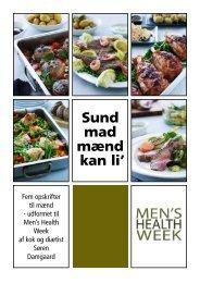 Sund mad mænd 'kan li' - Selskab for Mænds Sundhed