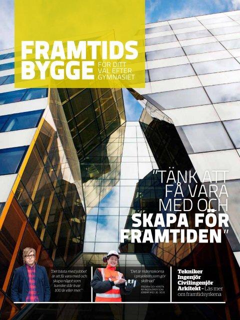 Framtidsbygge (2,4 Mb) - Publikationer från Sveriges Byggindustrier