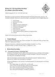 Referat fra Vejle Sportsfiskerforenings 84. generalforsamling 2009