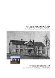 519 Tilstandsrapport m bilder 3 - Amalienborg gård