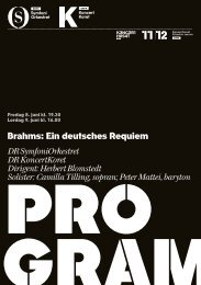 Brahms: Ein deutsches Requiem DR SymfoniOrkestret DR ...