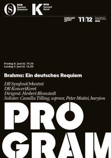 Brahms: Ein deutsches Requiem DR SymfoniOrkestret DR ...