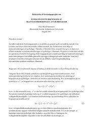 Download projektbeskrivelse (PDF) - Københavns Universitet