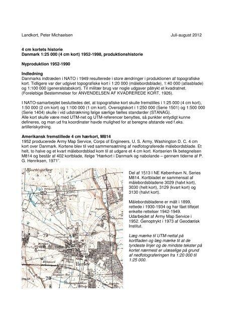 4 Cm Kortets Historie Topograf Dk