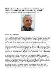 Peter Stougaard nekrolog
