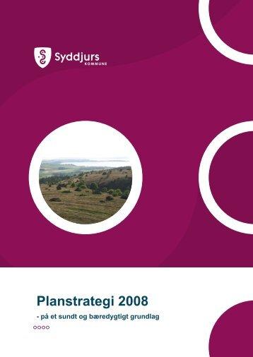 Planstrategi 2008 - Syddjurs Kommune