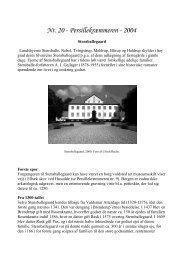 Nr. 20 Stensballegaard - Stensballe Lokalhistoriske Arkiv