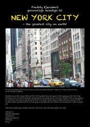 NEW YORK CITY - Freddy Kjensmo