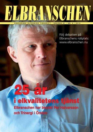 Nummer 2 - Elbranschens oberoende informationskanal