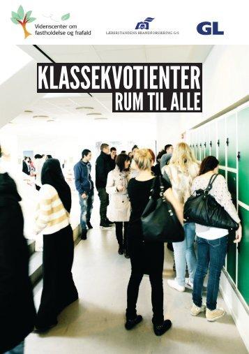 KlasseKvotienter - Videnscenter om fastholdelse og frafald (VOFF)