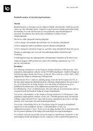 Læs LO-notat om Rambølls undersøgelse