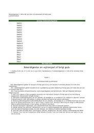 Dansk bekendtgørelse om vejtransport af farligt gods 2011 - safetrans